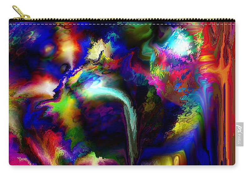Carry-all Pouch featuring the digital art B497076 by Studio Pixelskizm