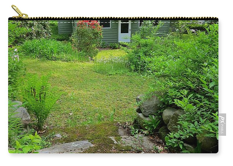 Home Carry-all Pouch featuring the photograph Back Door by MTBobbins Photography