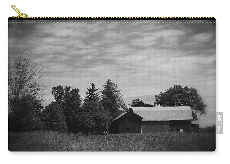 Barn Carry-all Pouch featuring the photograph Back in the Day by Rhonda Barrett
