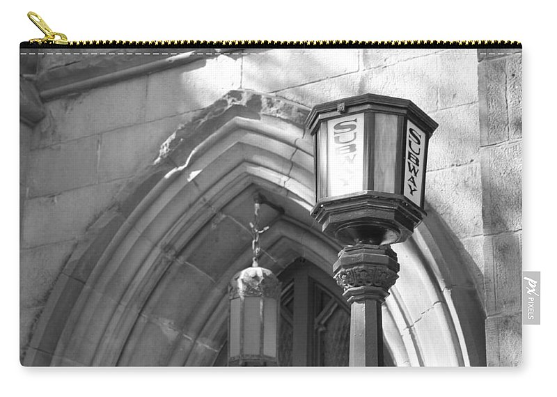 Subway Station Carry-all Pouch featuring the photograph Back In Time by Catie Canetti