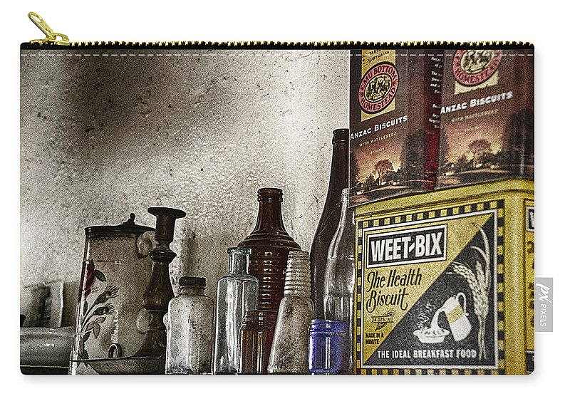 Weet Bix Carry-all Pouch featuring the photograph Back In Time by Douglas Barnard