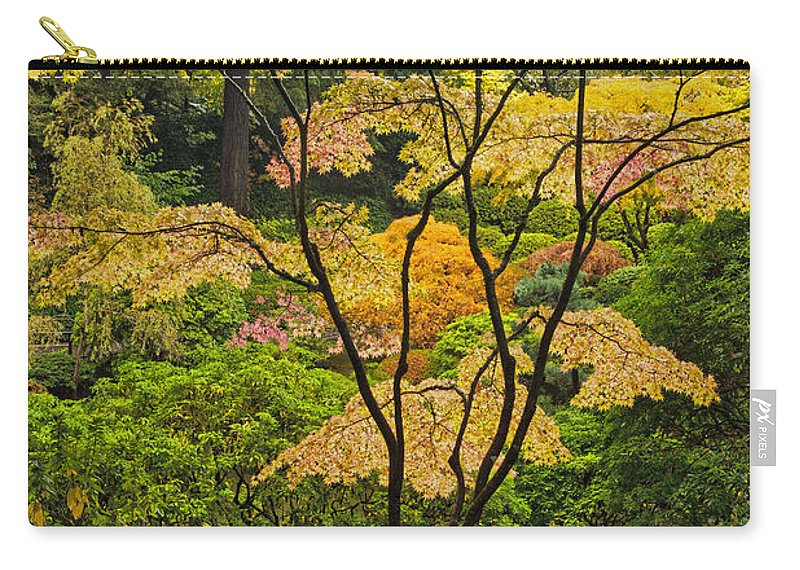 Backlit D2722 Carry-all Pouch featuring the photograph Backlit by Wes and Dotty Weber