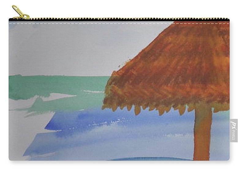 Baja Carry-all Pouch featuring the photograph Baja by Kimberly Maxwell Grantier