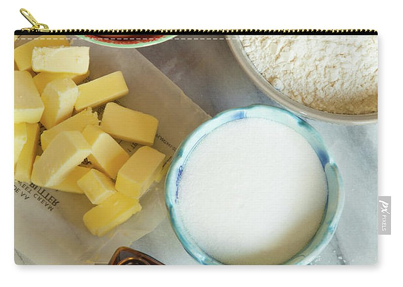 Sugar Carry-all Pouch featuring the photograph Baking Ingredients by Beth D. Yeaw