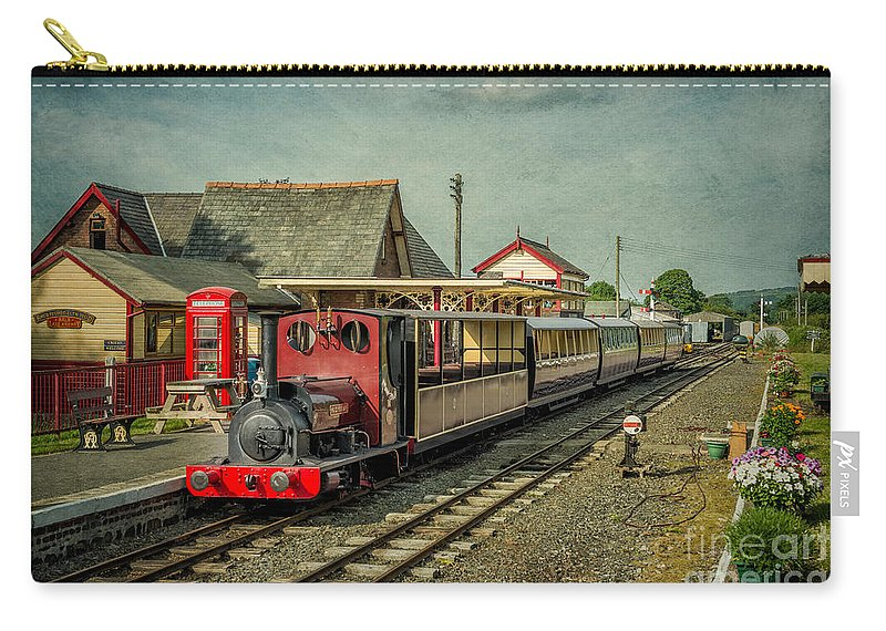 1903 Carry-all Pouch featuring the photograph Bala Lake Railway by Adrian Evans