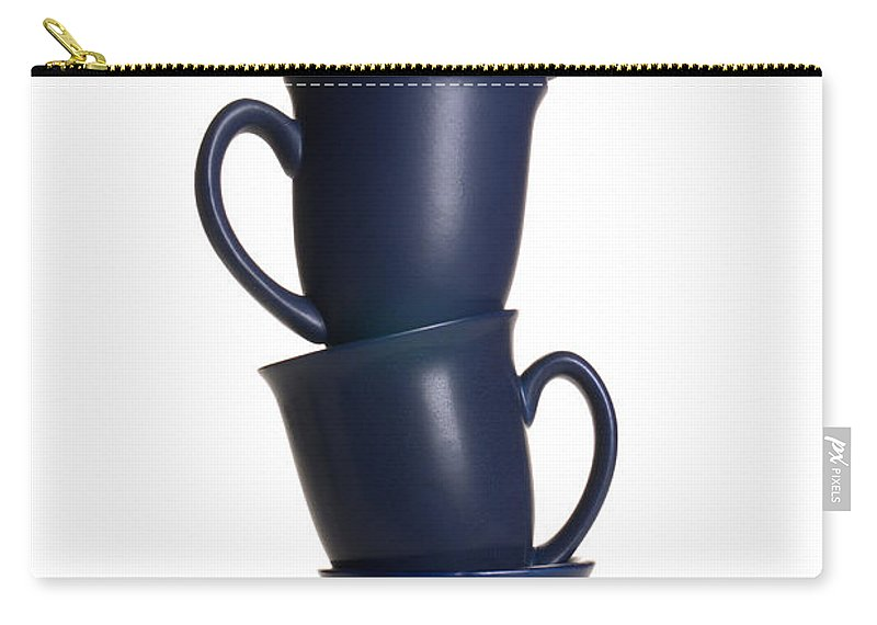 Coffee Carry-all Pouch featuring the photograph Balancing Act by Olivier Le Queinec