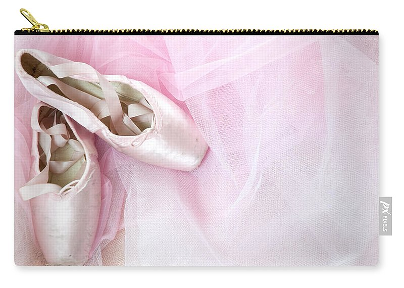 Ballet Carry-all Pouch featuring the photograph Ballerina Dreams by Zina Zinchik