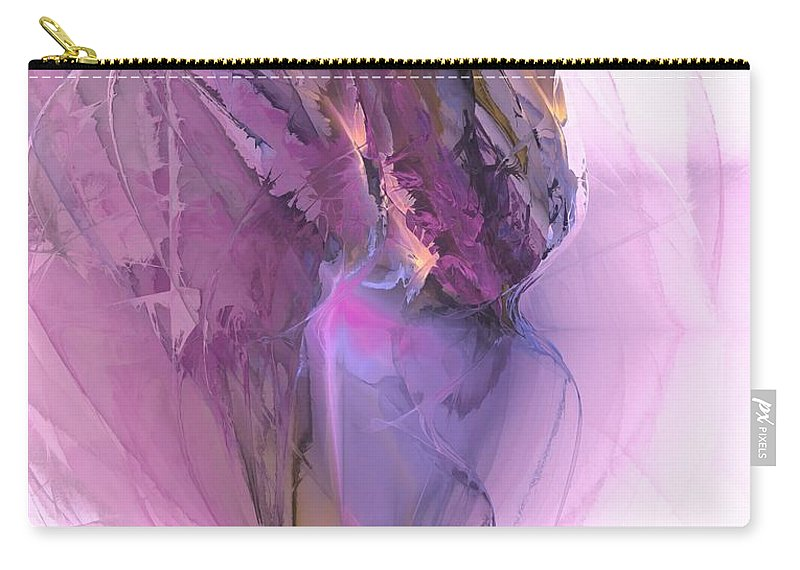 Abstract Carry-all Pouch featuring the digital art Ballerina - Marucii by Marek Lutek