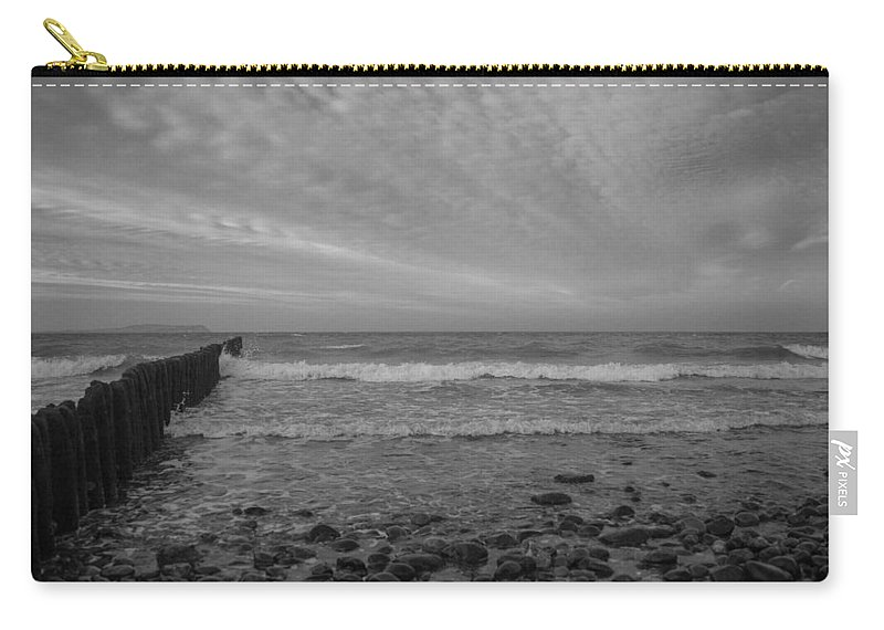 Island Of Ruegen Carry-all Pouch featuring the photograph Baltic Sea And Clouds by Ralf Kaiser