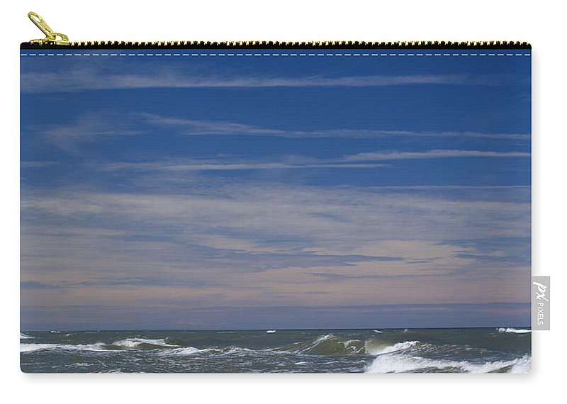 Background Carry-all Pouch featuring the photograph Baltic Sea by Karol Kozlowski