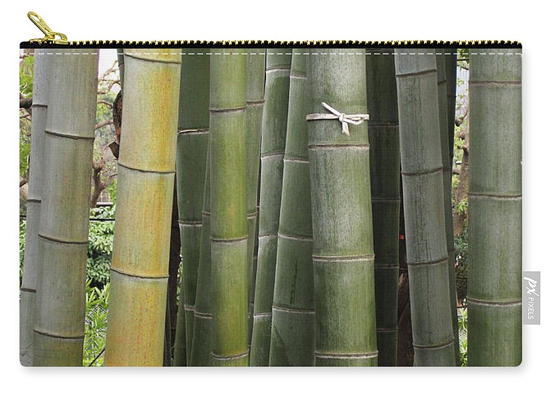Bamboo Carry-all Pouch featuring the photograph Bamboo by Eena Bo