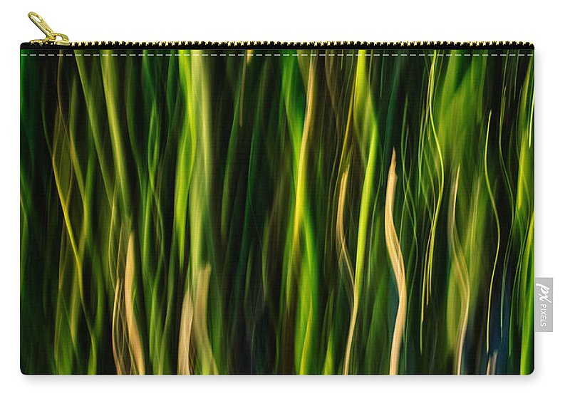 Bamboo Carry-all Pouch featuring the photograph Bamboo In Motion by David Kay