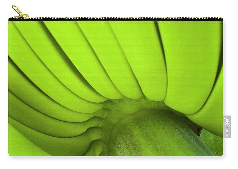 Nature Carry-all Pouch featuring the photograph Banana Bunch by Heiko Koehrer-Wagner