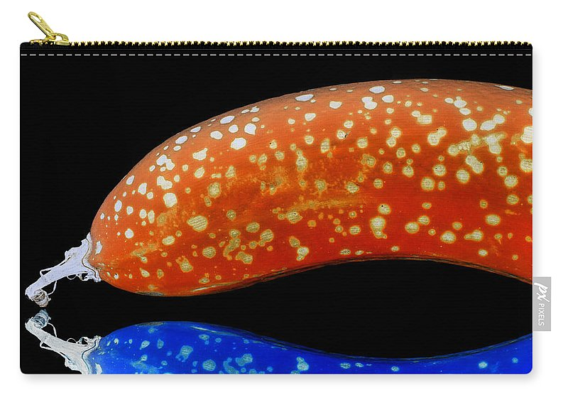 Bananas Carry-all Pouch featuring the photograph Banana Fantasy by Wayne Sherriff
