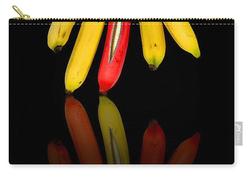 Abstract Carry-all Pouch featuring the photograph Bananas by Svetlana Sewell