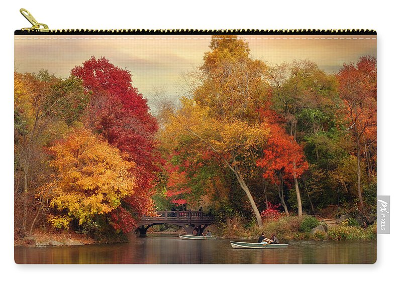 Nature Carry-all Pouch featuring the photograph Bank Rock Bay by Jessica Jenney