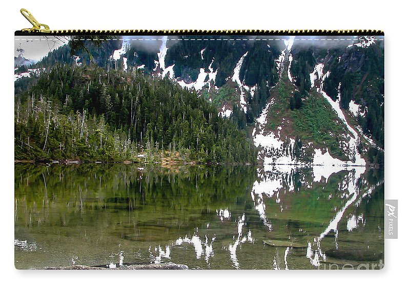 Alaska Carry-all Pouch featuring the photograph Baranof Lake by Robert Bales