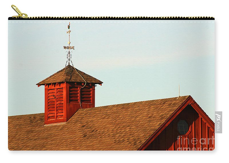 Agriculture Carry-all Pouch featuring the photograph Barn-3684 by Gary Gingrich Galleries