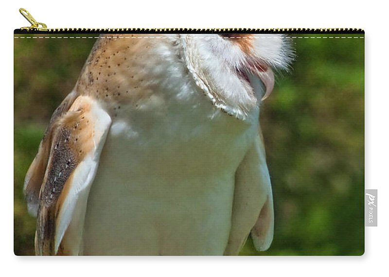 Barn Owl Carry-all Pouch featuring the photograph Barn Owl by Susie Peek
