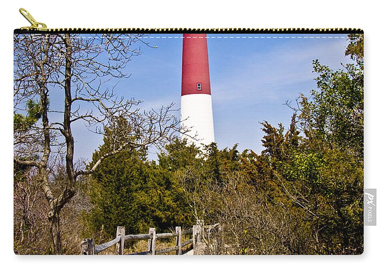 Lighthouses Carry-all Pouch featuring the photograph Barnegat Lighthouse II by Anthony Sacco