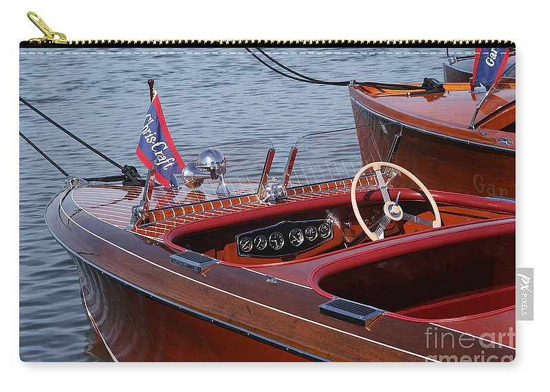 Boat Carry-all Pouch featuring the photograph Barrel Back-cockpit View by Neil Zimmerman