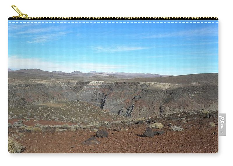 Barren Carry-all Pouch featuring the photograph Barren Beauty by Annie Adkins