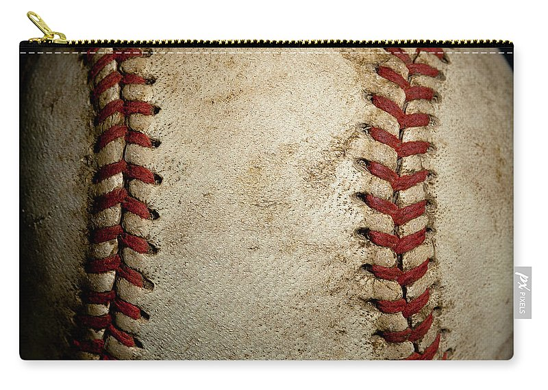 Baseball Seams Carry All Pouch For Sale By David Patterson