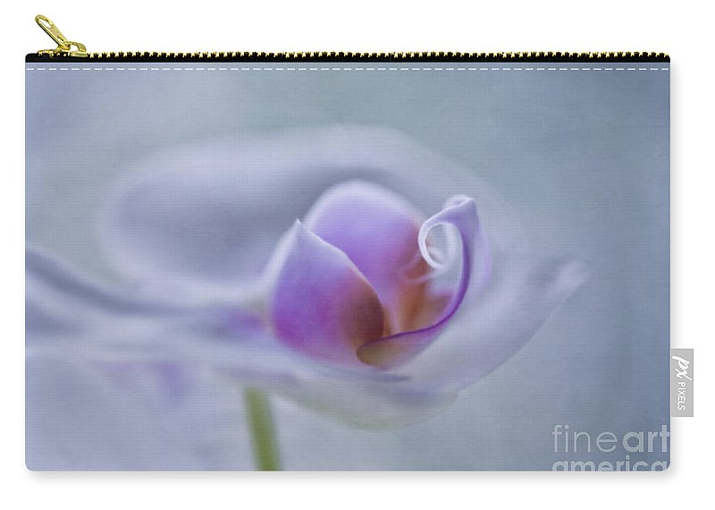 Orchid Carry-all Pouch featuring the photograph Bathing In Light by Maria Ismanah Schulze-Vorberg