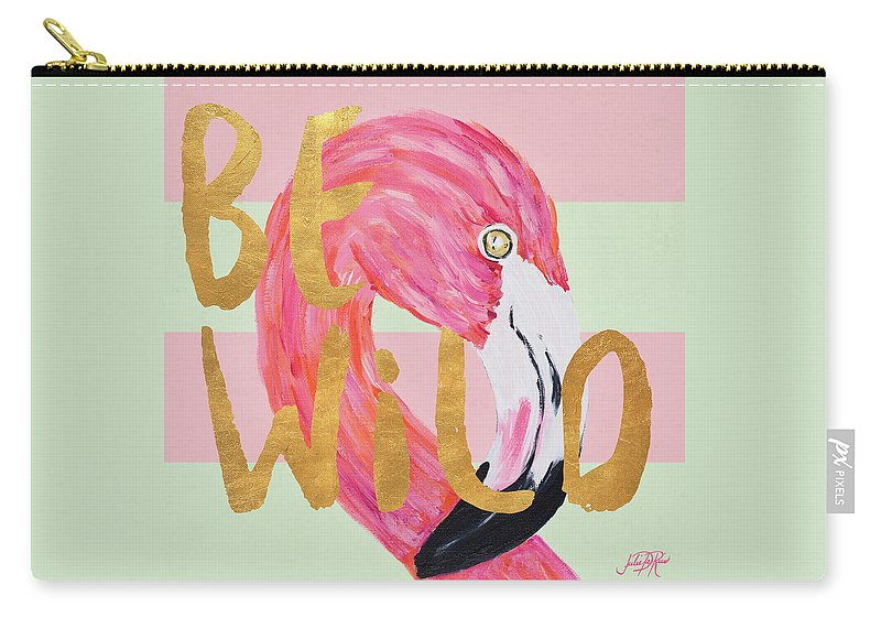 Wild Carry-all Pouch featuring the painting Be Wild And Unique II by South Social D