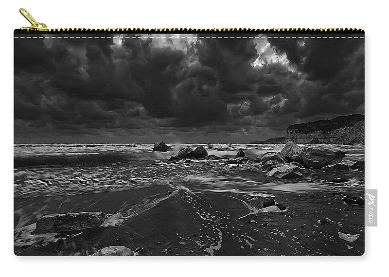 Beach Carry-all Pouch featuring the photograph Beach 31 by Ingrid Smith-Johnsen
