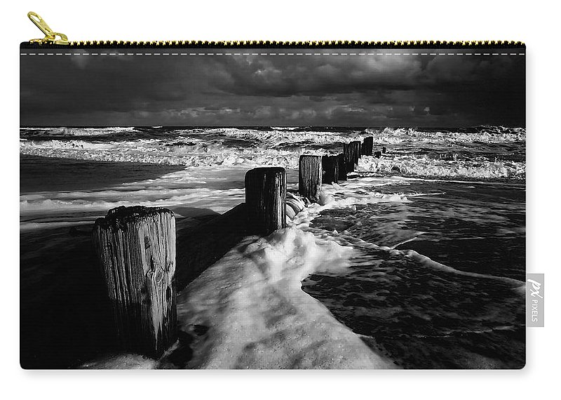 Beach Carry-all Pouch featuring the photograph Beach 28 by Ingrid Smith-Johnsen