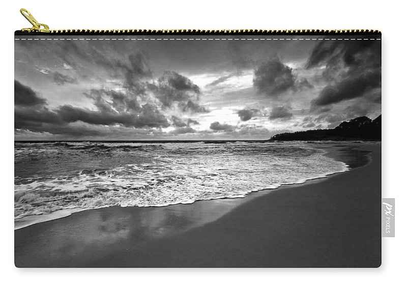 Beach Carry-all Pouch featuring the photograph Beach 9 by Ingrid Smith-Johnsen