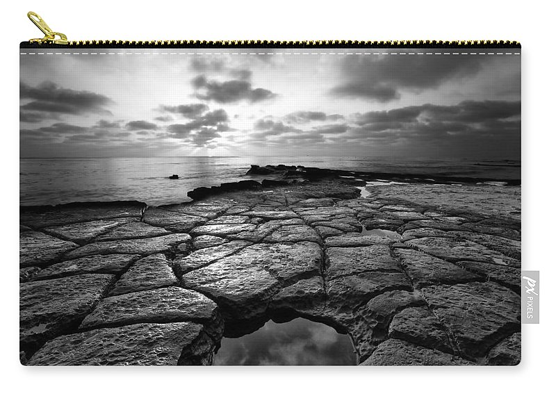 Beach Carry-all Pouch featuring the photograph Beach 6 by Ingrid Smith-Johnsen