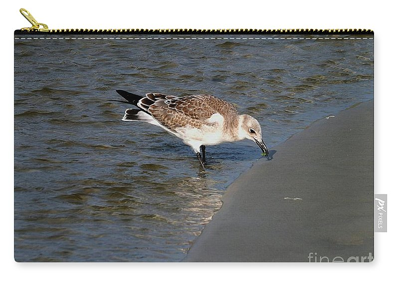 Beach Carry-all Pouch featuring the photograph Beach Beauty by Christy Ricafrente