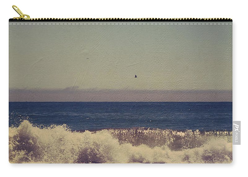Aptos Carry-all Pouch featuring the photograph Beach Days by Laurie Search