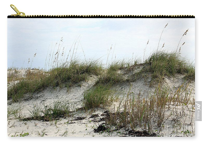 Beach Carry-all Pouch featuring the photograph Beach Dune by Chris Thomas
