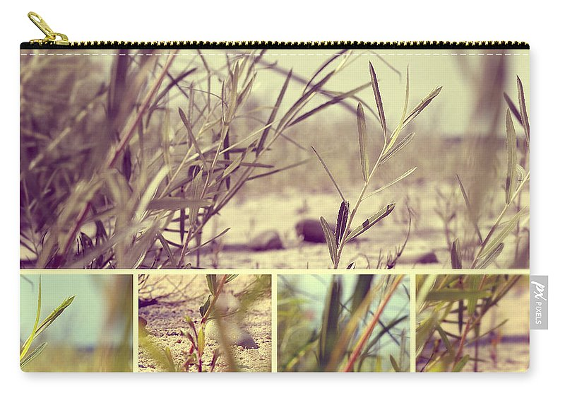Beach Grass Carry-all Pouch featuring the photograph Beach Grass Two by Marysue Ryan