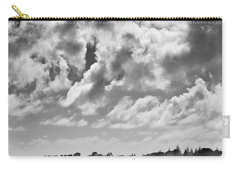 Ride Carry-all Pouch featuring the photograph Beach Riders by Dave Bowman