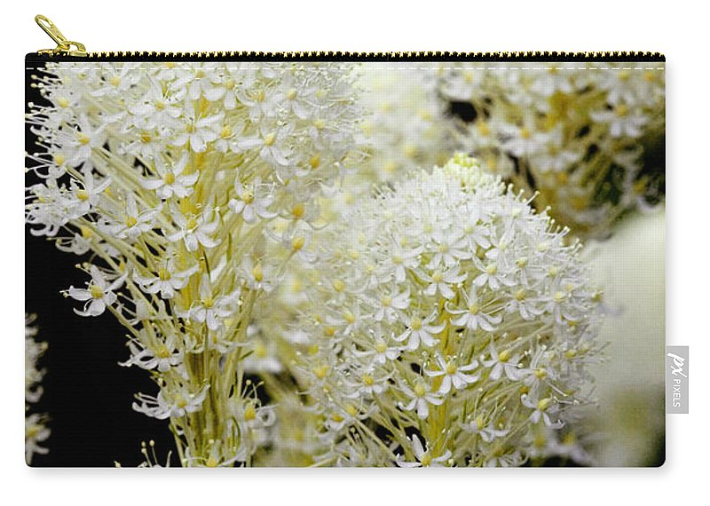Glacier National Park Carry-all Pouch featuring the photograph Bear Grass Flowers Glacier National Park by Rich Franco