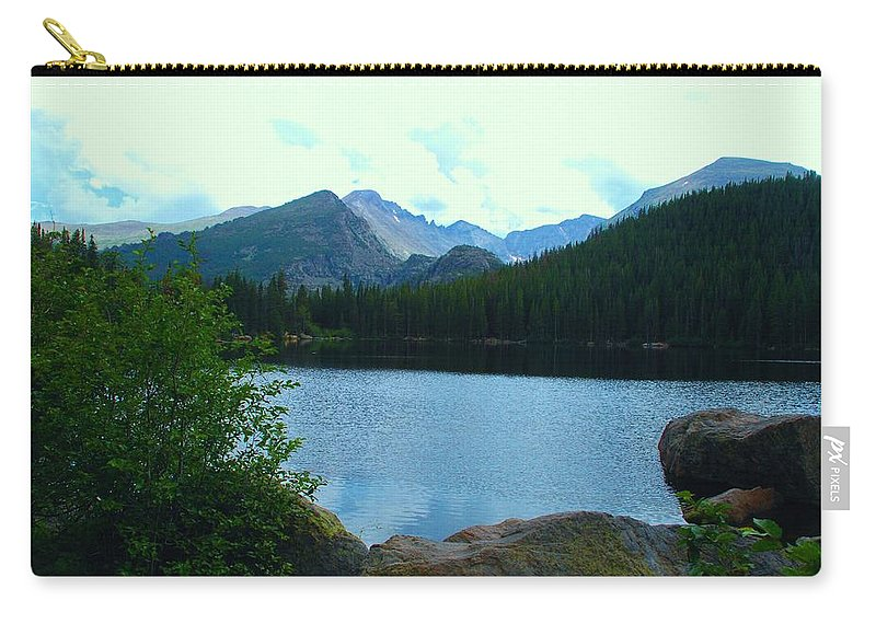 Bear Lake Carry-all Pouch featuring the photograph Bear Lake - Colorado by Dany Lison