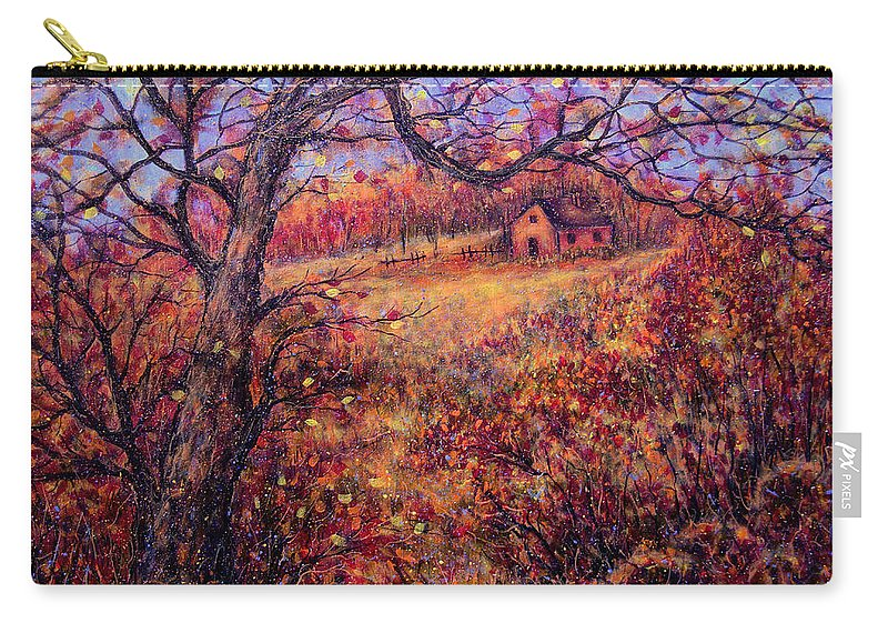 Autumn Carry-all Pouch featuring the painting Beautiful Autumn by Natalie Holland