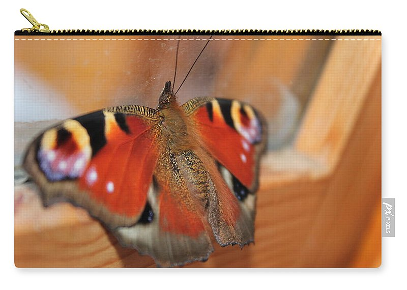Butterfly Carry-all Pouch featuring the photograph Beautiful Butterfly by Perggals - Stacey Turner