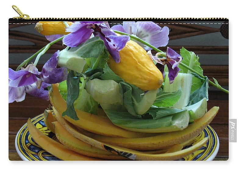 Beautiful Compost Carry-all Pouch featuring the photograph Beautiful Compost by Gia Marie Houck