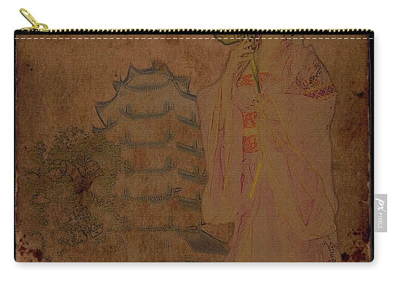 Female Carry-all Pouch featuring the photograph Beautiful Imperial Consort Yang Yuhuan by Doug Matthews