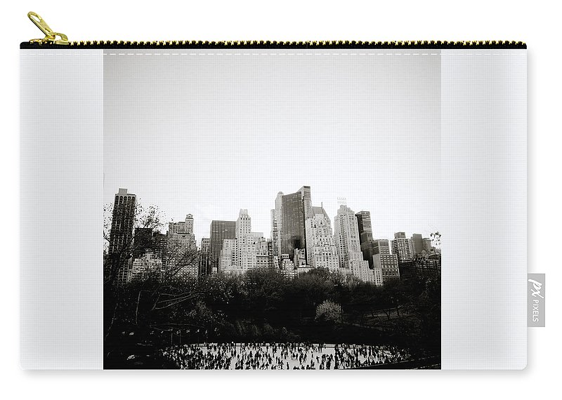 Inspiration Carry-all Pouch featuring the photograph New York Memories by Shaun Higson