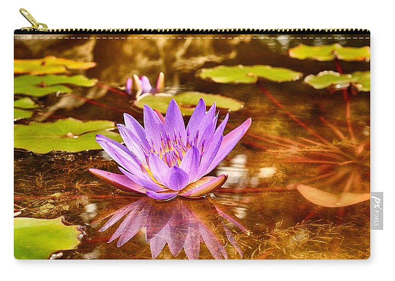 Reflection Photograph Carry-all Pouch featuring the photograph Beautiful Reflections by Kristina Deane