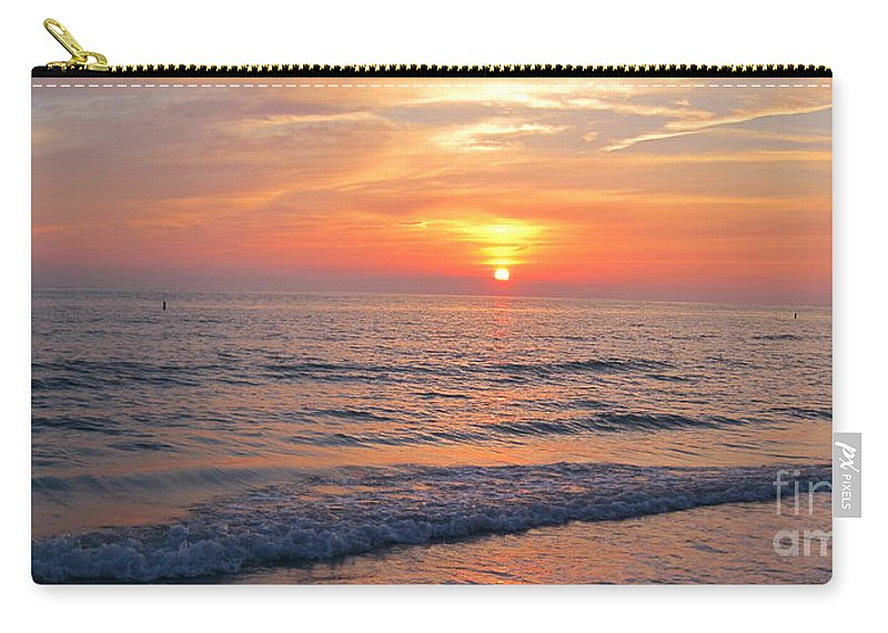 Landscape Carry-all Pouch featuring the photograph Beautiful Sunset by Megan Cohen