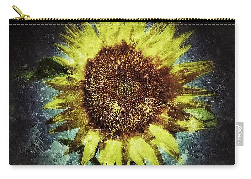 Abstract Photography Carry-all Pouch featuring the photograph Beauty And The Beast by Bill Owen