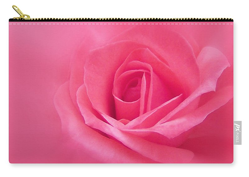 Rose Carry-all Pouch featuring the photograph Beauty by Ernie Echols
