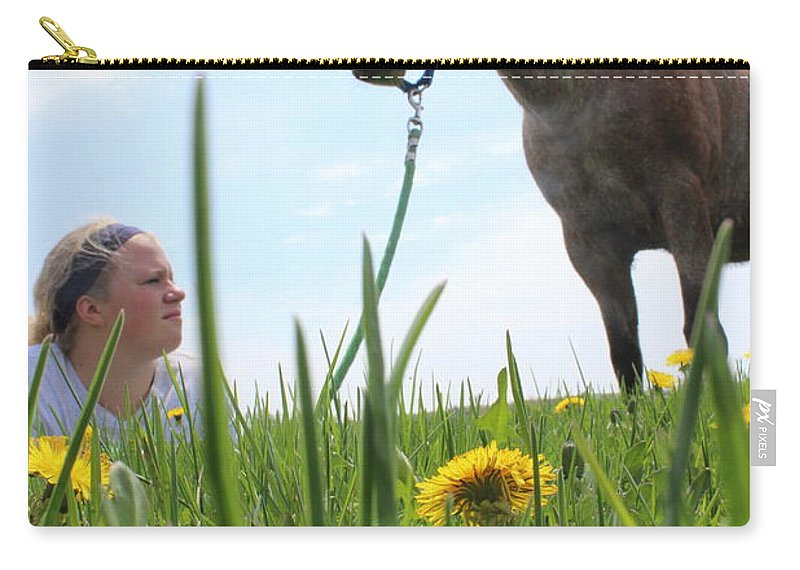 Horse Carry-all Pouch featuring the photograph Beauty by Tiffany Erdman